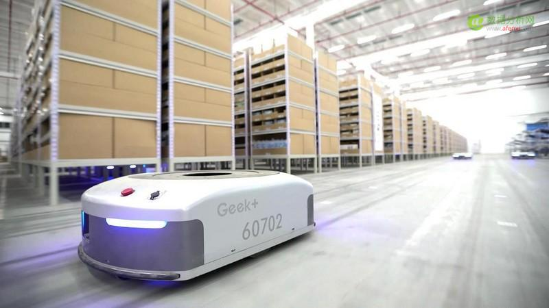 仓储机器人企业Geek+获约1亿元A+轮融资,祥峰领投