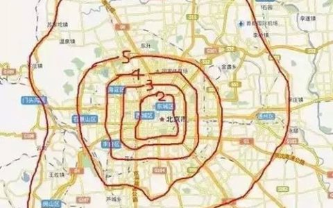 大数据告诉您北京各环人数几多?房价几何?外地买几成?