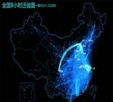 高手教你用Excel制作百度迁徙数据地图-数据分析网