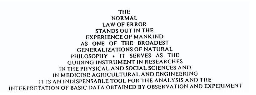 正态分布的前世今生:误差分布曲线的确立