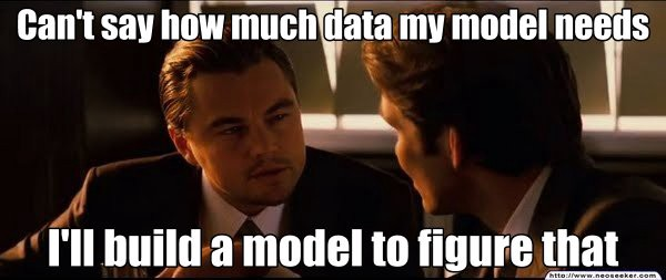 数据模型需要多少训练数据?