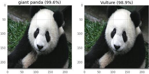 如何让神经网络把熊猫识别为秃鹫