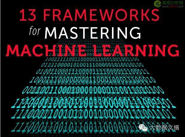 译机器学习的十三套框架