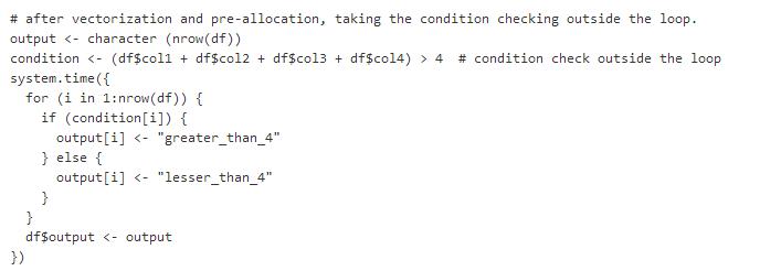 将条件判断语句移至循环外