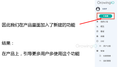 GrowingIO用户行为数据分析:提升留存新建指标功能.png