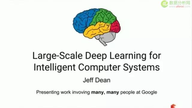 Google的深度学习强在哪?谷歌首席科学家说了这些奇妙特性