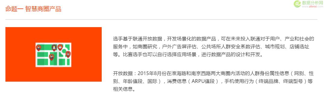 """上海联通""""沃+""""开放数据应用大赛(2016年3月25日正式开幕)"""