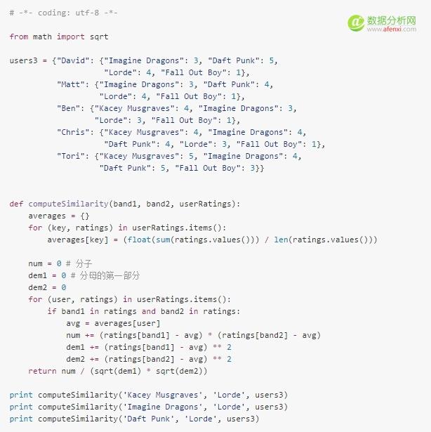 python代码