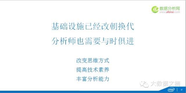 【珍藏版】Intel研究院院长吴甘沙:大数据分析师的卓越之道