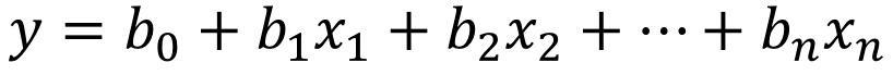 多元线性方程