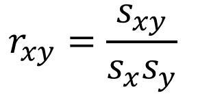 相关系数公式