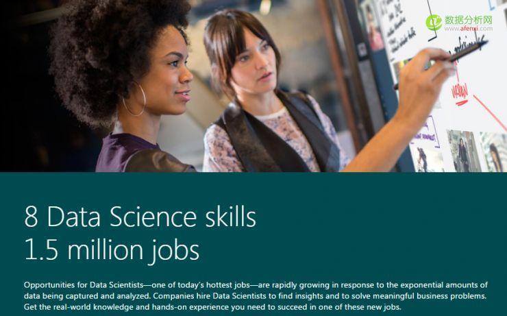 数据科学人才太火,微软推出数据专业学位项目-数据分析网