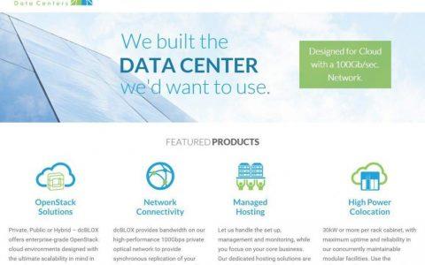 数据服务公司dcBLOX获1500万美元A轮,进军二线城市的数据中心市场