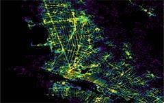 如何可视化城市的交通便捷性-数据分析网