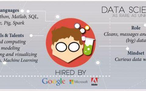 数据科学领域的职位划分以及职责技能