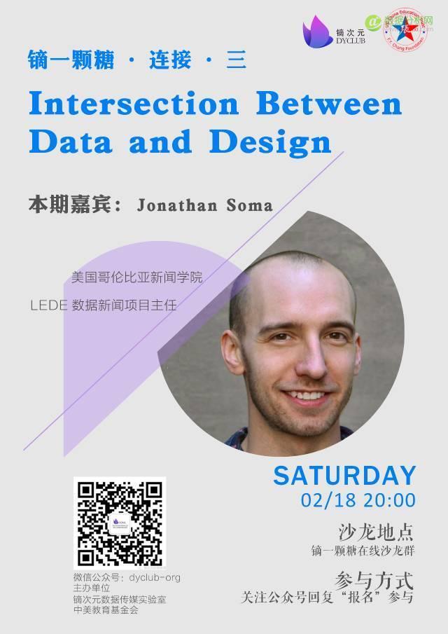 Intersection between data and design | 镝一颗糖线上沙龙(2017年2月18日)