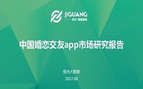 极光大数据:中国婚恋交友app市场研究报告