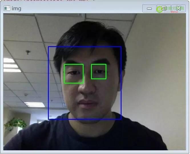使用Python + OpenCV来实现脸部和眼睛的检测