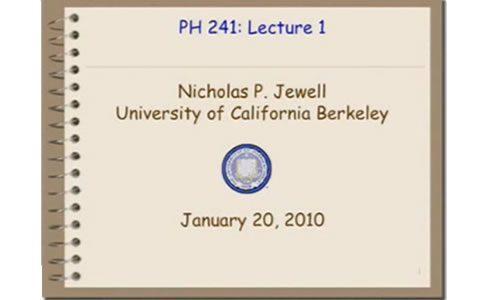 加州大学伯克利分校:公共健康-数据统计分析(共42集)