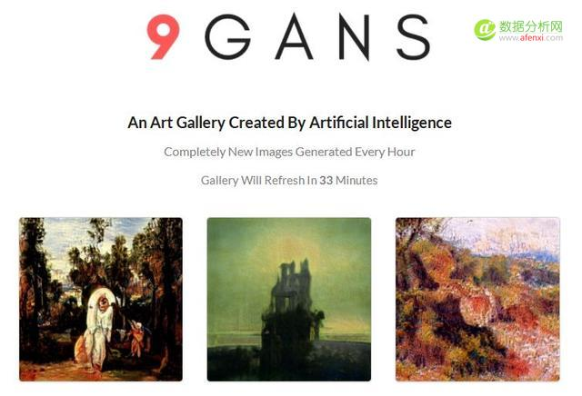 这个AI批量作画每小时九张,与毕加索同台竞技,还真有人买