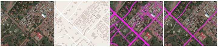 用深度学习+弱监督训练来绘制全球高精度道路图