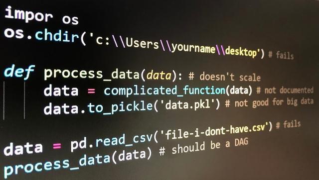 数据科学工程师常犯的错误Top10