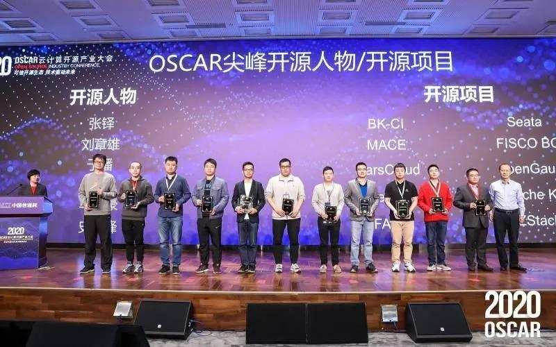 OSCAR尖峰开源人物及项目
