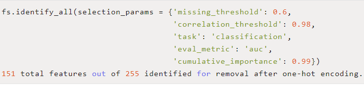 一个可以进行机器学习特征选择的python工具