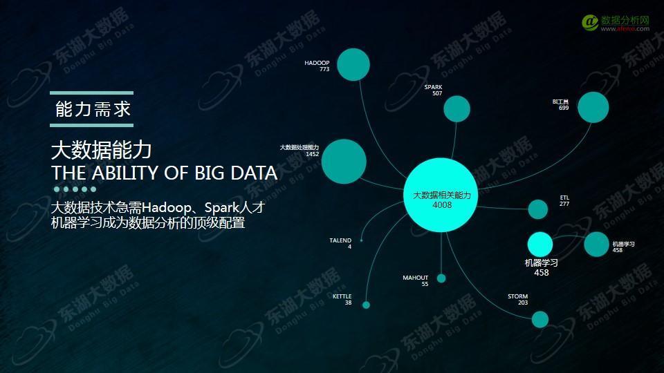 东湖大数据:2017年大数据分析师能力模型与企业需求报告